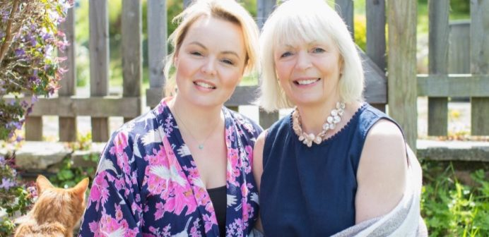 Hannah Lovegrove and Hayley De Beers