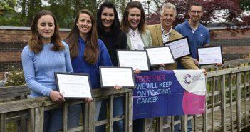 Humphries Kirk staff receiving their certificates