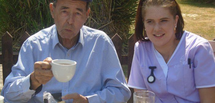 Fairmile Grange residents enjoy a 'splashing' day out in Christchurch