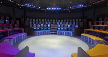 The pop-up theatre
