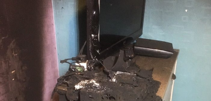 Bedroom fire prompts candle safety warning