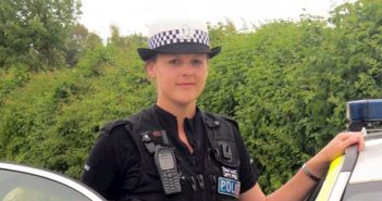 PC vikki sharpe from Hampshire Police receives bravery award after violent attack from motorist