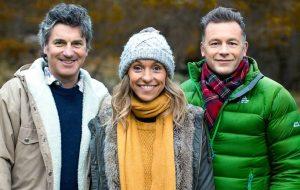 (L-R) Martin Hughes-Games, Michaela Strachan and Chris Packham, (C) BBC