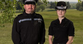 Photo of the two officers