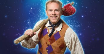 Chris Jarvis in costume