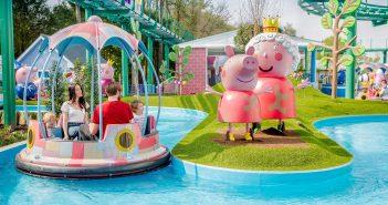 Peppa Pig water ride