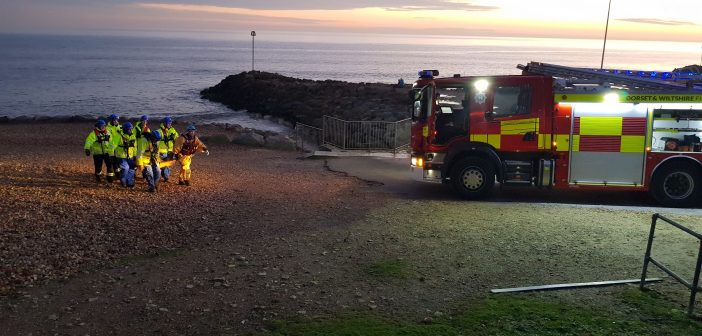 Firefighters warn of dangers after mud rescue