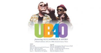 UB40 Featuring Ali Campbell andAstro Open UK Tour in Bournemouth