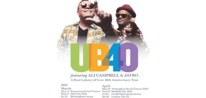 UB40 Featuring Ali Campbell and Astro Open UK Tour in Bournemouth