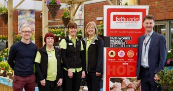 Haskins Garden Centre in Ferndown nominates Faithworks Wessex as its Charity of the Year