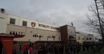 image of vitality stadium, home of AFC Bournemouth