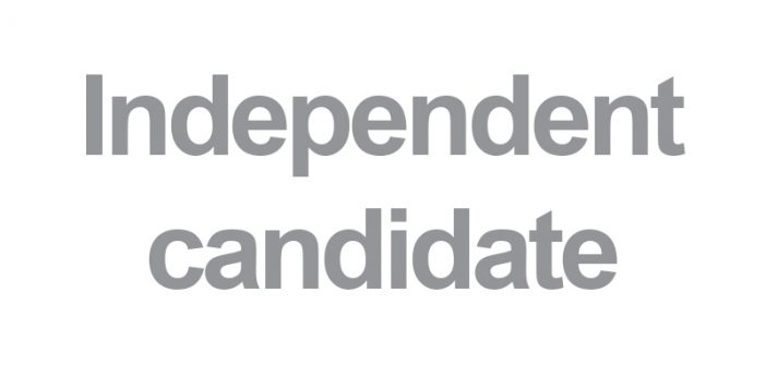 Independent Candidate BCP local elections 2019