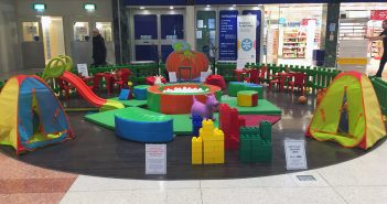 image of kids' play area in Dolphin shopping centre in Poole