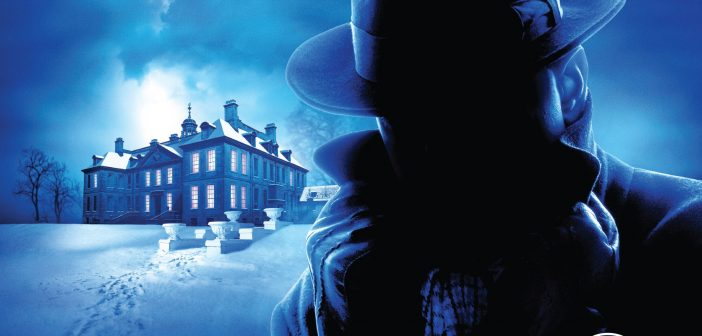 image from the poster for Agatha Christie's The Mousetrap