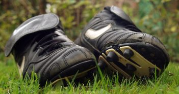 Old football boots charity appeal from Kia