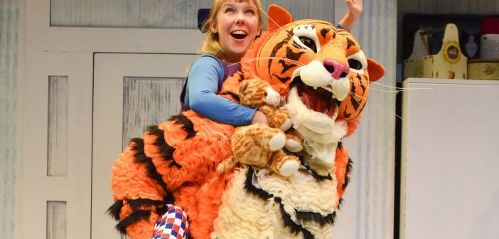 image of the tiger and sophie in the tiger who came to tea