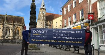 image of Will Hyde from Dorset County Show and Phil Gordon from Dorchester BID in Dorchester