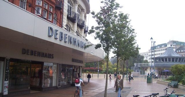 image of Debanhams in Bournemouth square