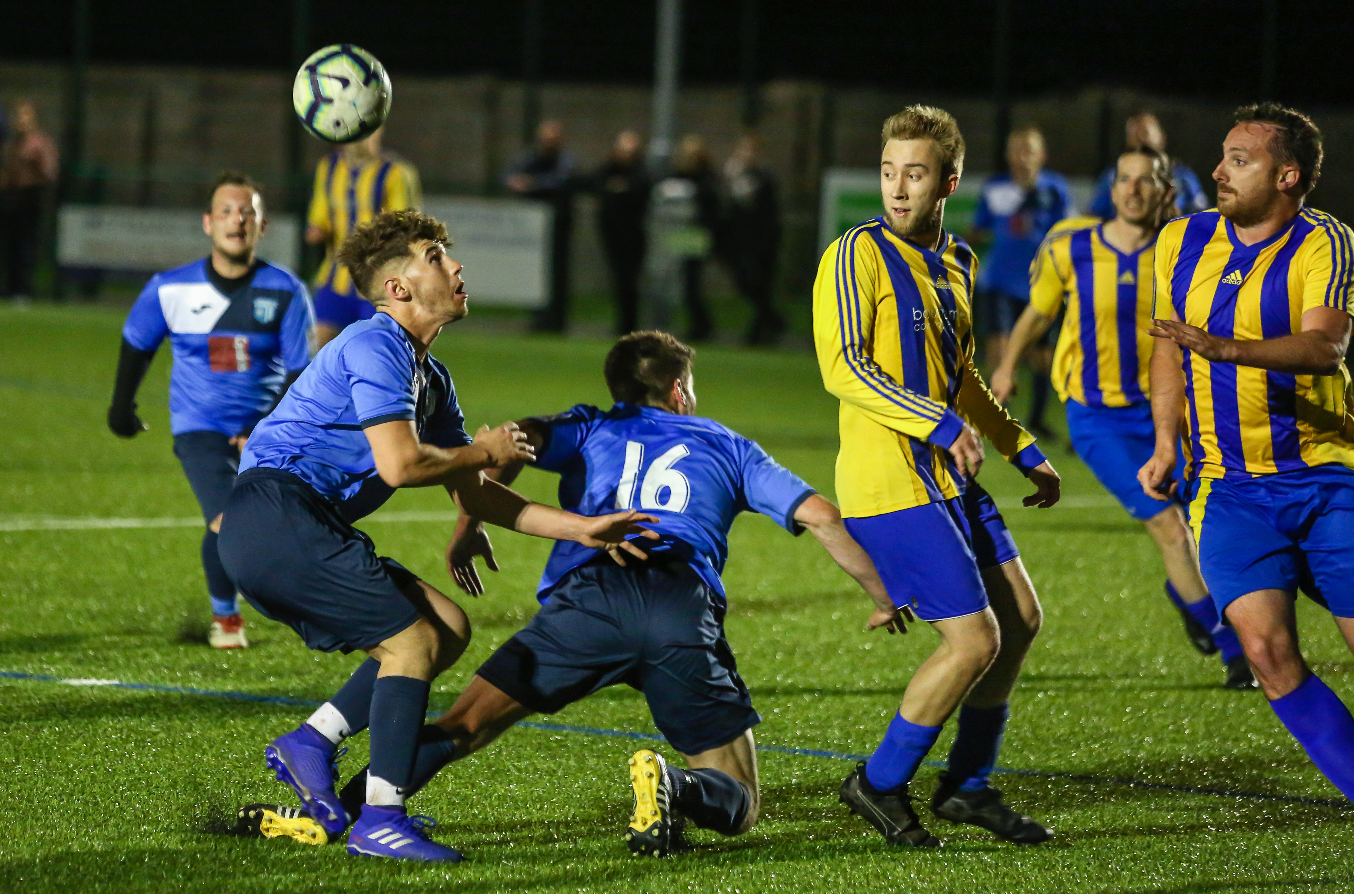 image of football match between BCHA FC and BCC