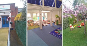 series of images of Queen's Park children's centre