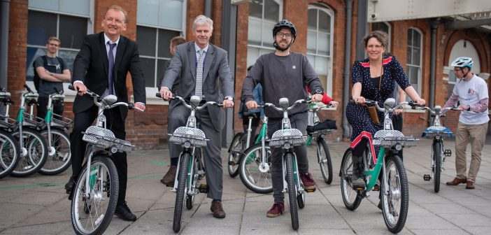 LOCAL NEWS: New Beryl Bike sharing service launched