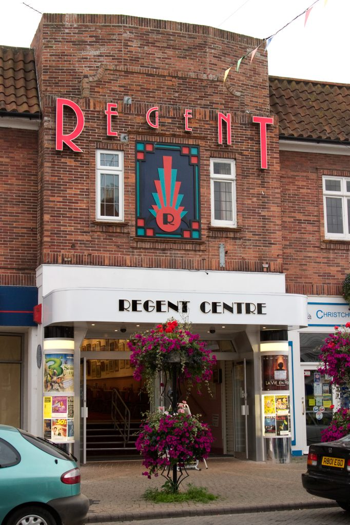 The front of the Regent Centre
