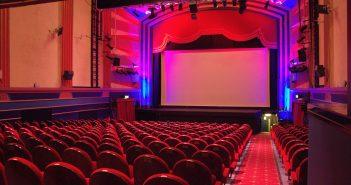 The auditorium of the Regent Centre.