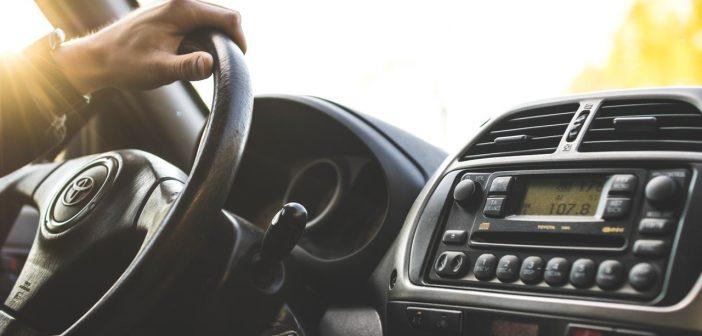 A car stereo.