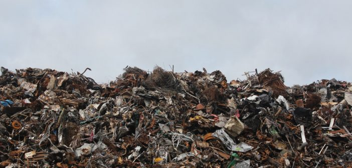 An image of landfill