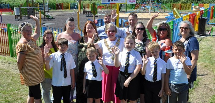 LOCAL NEWS: Poole mums open new play park after securing grants