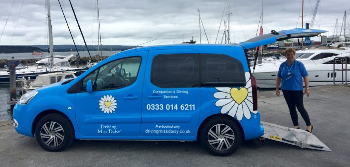 LOCAL NEWS: Driving Miss Daisy around Poole!