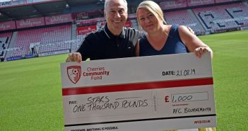 LOCAL NEWS: AFC Bournemouth Donates £1000 to STARS Dorset