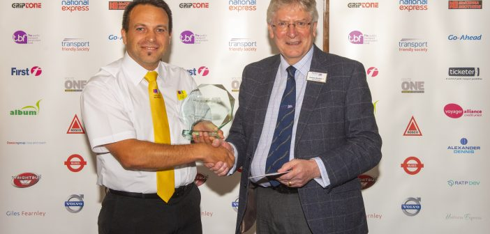 yellow bus driver award