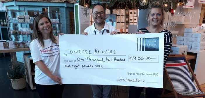 LOCAL NEWS: John Lewis raises funds for disability respite home