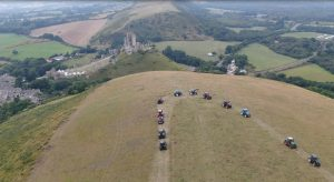 tractors gather for charity
