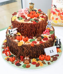 The winning entry at Colten Care cake competition held at Bourne View care home