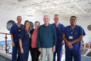 Murray Cook and surgical team