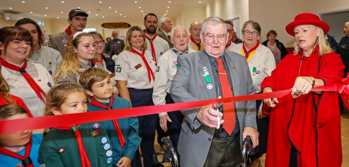 LEISURE: Scouts lift off in new hall with Bournemouth Airport