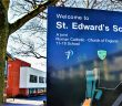 St Edwards School Entrance