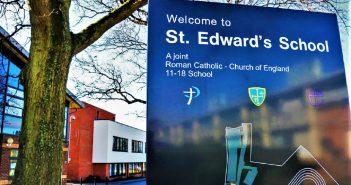 St Edwards School Entrance