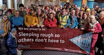 LOCAL NEWS: Big Sleep Easy event raises over £30,000 by 'sleeping rough so others don't have to'