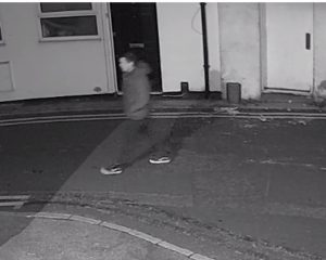CCTV image of the man police are looking to identify as a witness