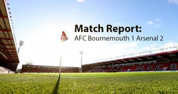 Bournemouth v Arsenal match report