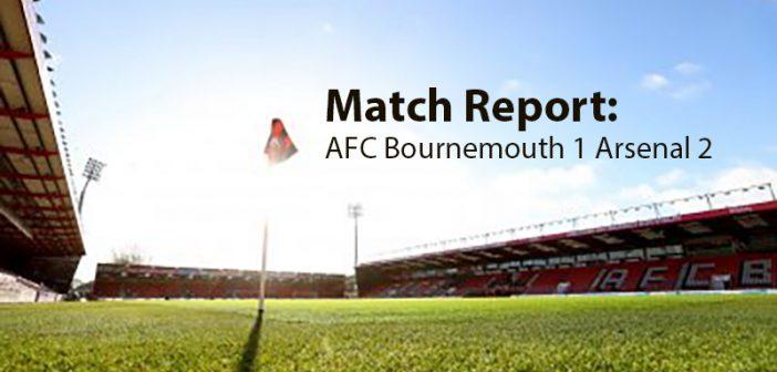 Bournemouth v Arsenal match report