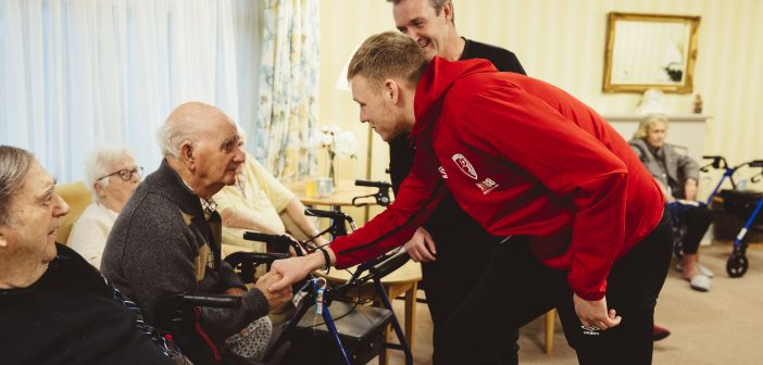SPORTS: Cherries No.1 unveiled as new Care South ambassador