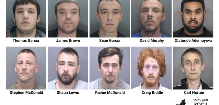 "LOCAL NEWS: Ten convicted of running Merseyside to Dorset ""county line"""