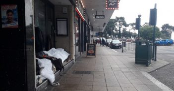Homeless rough sleepers Bournemouth