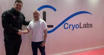 image of Jordan Wylie and Ian Watson of CryoLabs