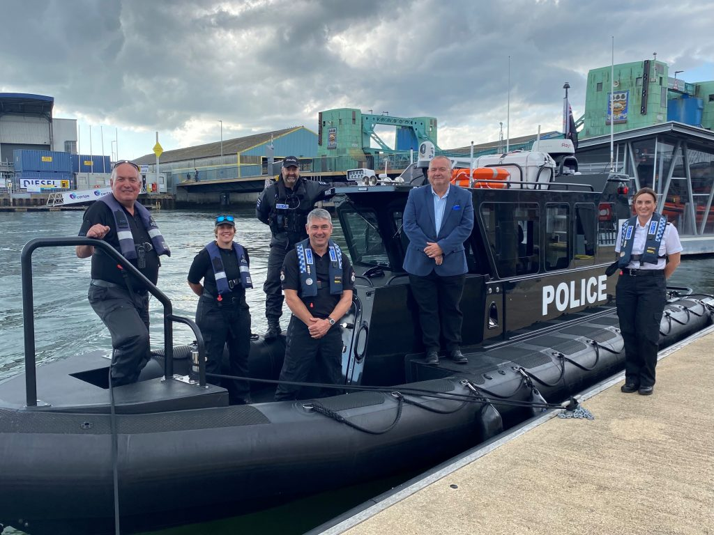 Buccaneer Dorset Police Patrol boat