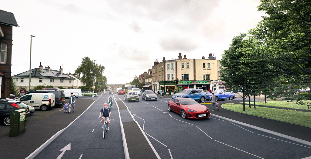 Wimborne Road Poole proposals
